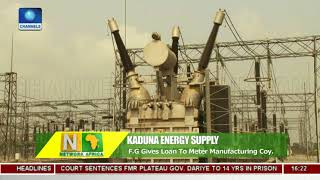 Gambar cover FG Gives Loan To Meter Manufacturing Company | Network Africa |