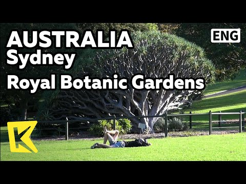 【K】Australia Travel-Sydney[호주 여행-시드니]로얄 보타닉가든 산책로/Sydney/Royal Botanic Gardens/Opera House/Sunset