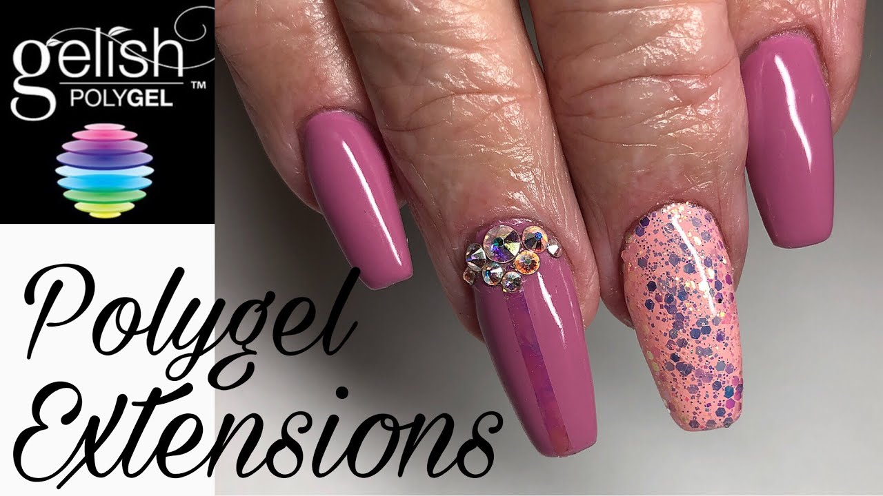 Polygel How To Ly Gelish Nails