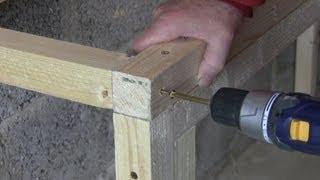 Garage Workshop Conversion - Bench