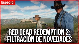 RED DEAD REDEMPTION 2: SÚPER FILTRACIÓN del Gameplay del Open World de Rockstar Games y John Marston