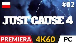 Just Cause 4 PL  #2 (odc.2)  Nowe gadżety i telewizja! | Gameplay po polsku w 4K Ultra