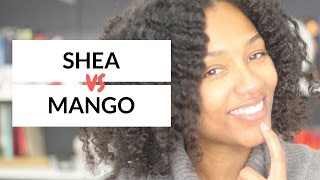 Mango Butter Versus Shea Butter on Natural Hair | Vlogmas Day 16 | HonestlyErica