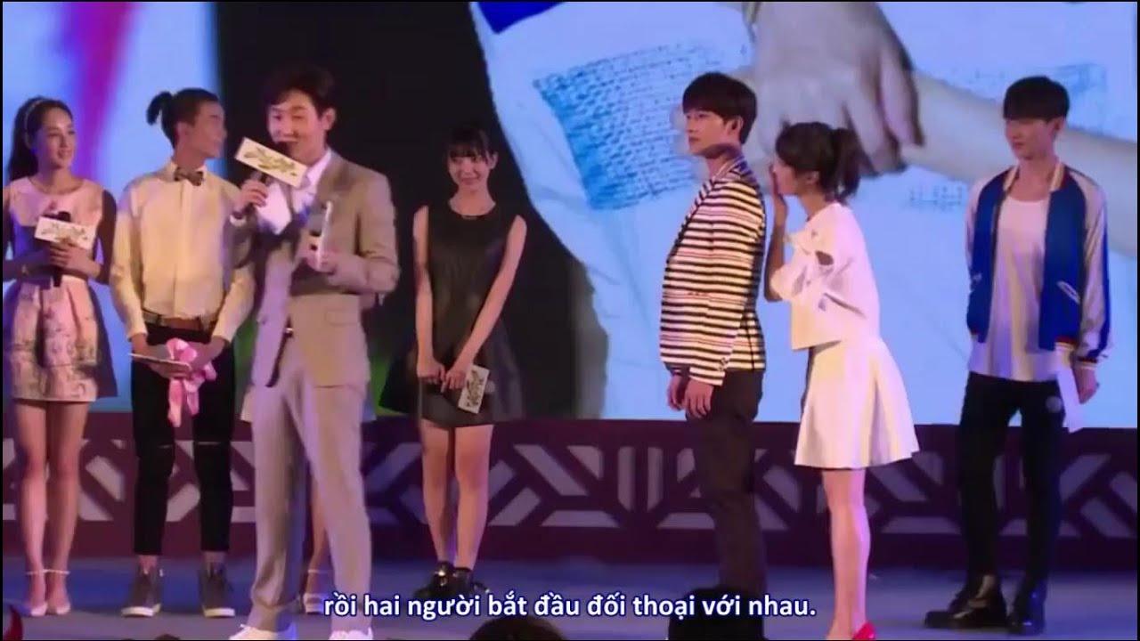 [Vietsub] Họp báo tuyên truyền Thiếu Nữ Toàn Phong – Dương Dương, Trần Tường,..