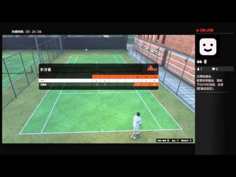 GTA5 ps4 Tennis game vs Hardest com