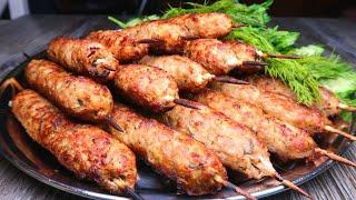 Рецепт находка! Вкуснее люля-кебаб я не ела! Потрясающее горячее блюдо на праздник и не только!