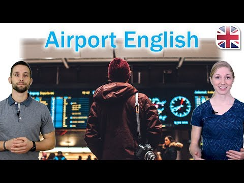 Airport English - At the Airport - Spoken English Lesson