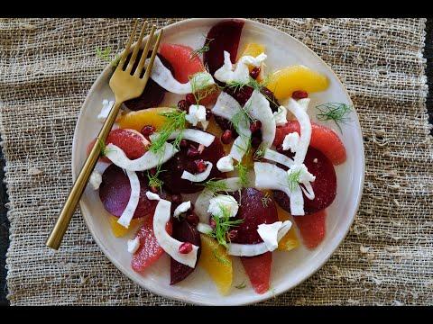 Shaved Beet, Fennel, and Orange Salad