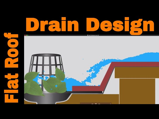 Flat Roof Drains Design Which Is The Best Drain Configuration