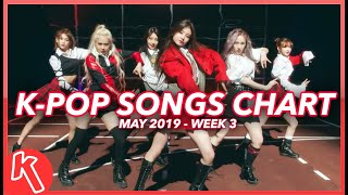 (TOP 100) K-POP SONGS CHART | MAY 2019 (WEEK 3)