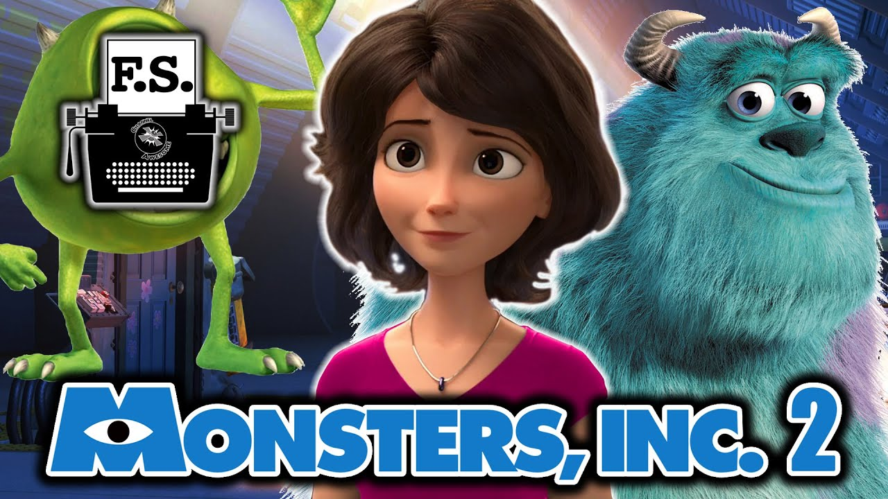 What If Boo Grew Up? (Monsters, Inc. 2) - YouTube