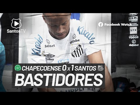 CHAPECOENSE 0 X 1 SANTOS   BASTIDORES   BRASILEIRÃO (01/08/21)