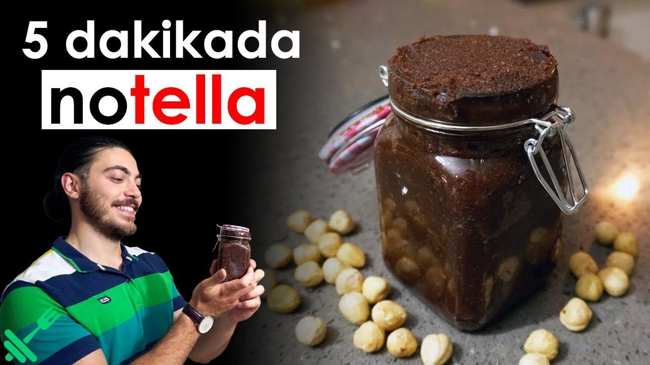 Nutella Yiyerek ZAYIFLA! - Ev Yapımı Fit Nutella Tarifi!