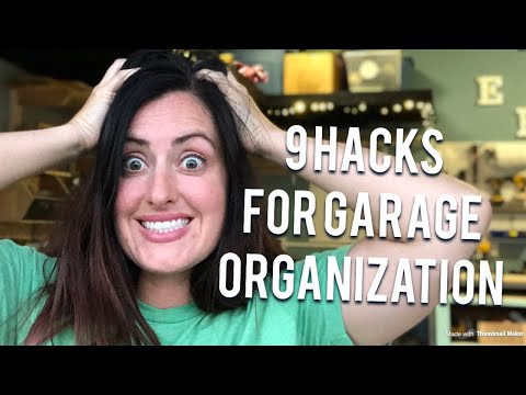 9 HACKS for Garage Organization and storage – diy shop hacks
