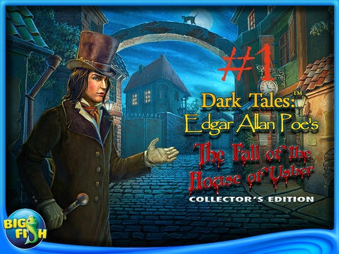 Dark Tales: Edgar Allan Poe's The Fall of the House of Usher Collector's Part 1 NO COMMENTARY