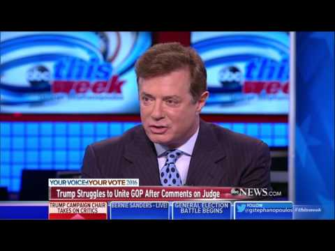 Trump Campaign Manager Paul Manafort Discusses Integration With The RNC