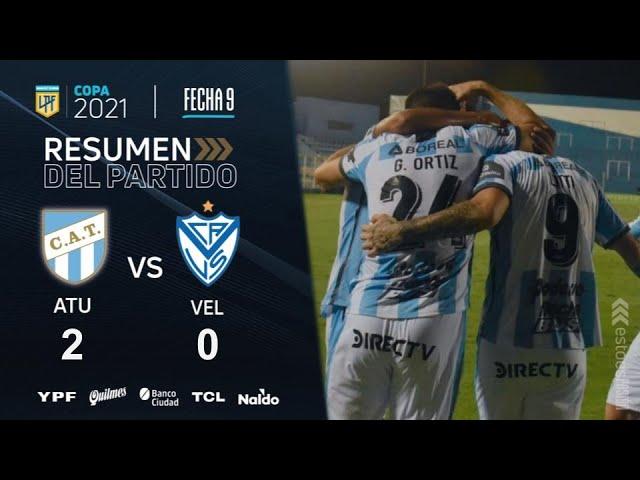 Copa De La Liga   Fecha 9   resumen de Atlético Tucumán - Vélez