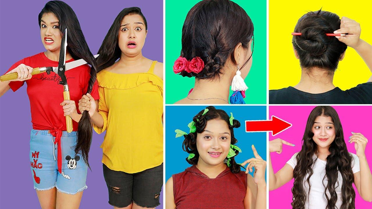 World's Best HAIR HACKS & TRICKS For Smart Girls | Smart Hair Hacks For Smart Girls