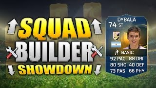 FIFA 15 SQUAD BUILDER SHOWDOWN!!! THE RAREST TOTS EVER!!! Team Of The Season Dybala