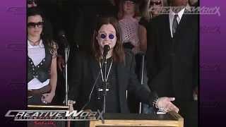 Ozzy Osbourne Honors Zakk Wylde