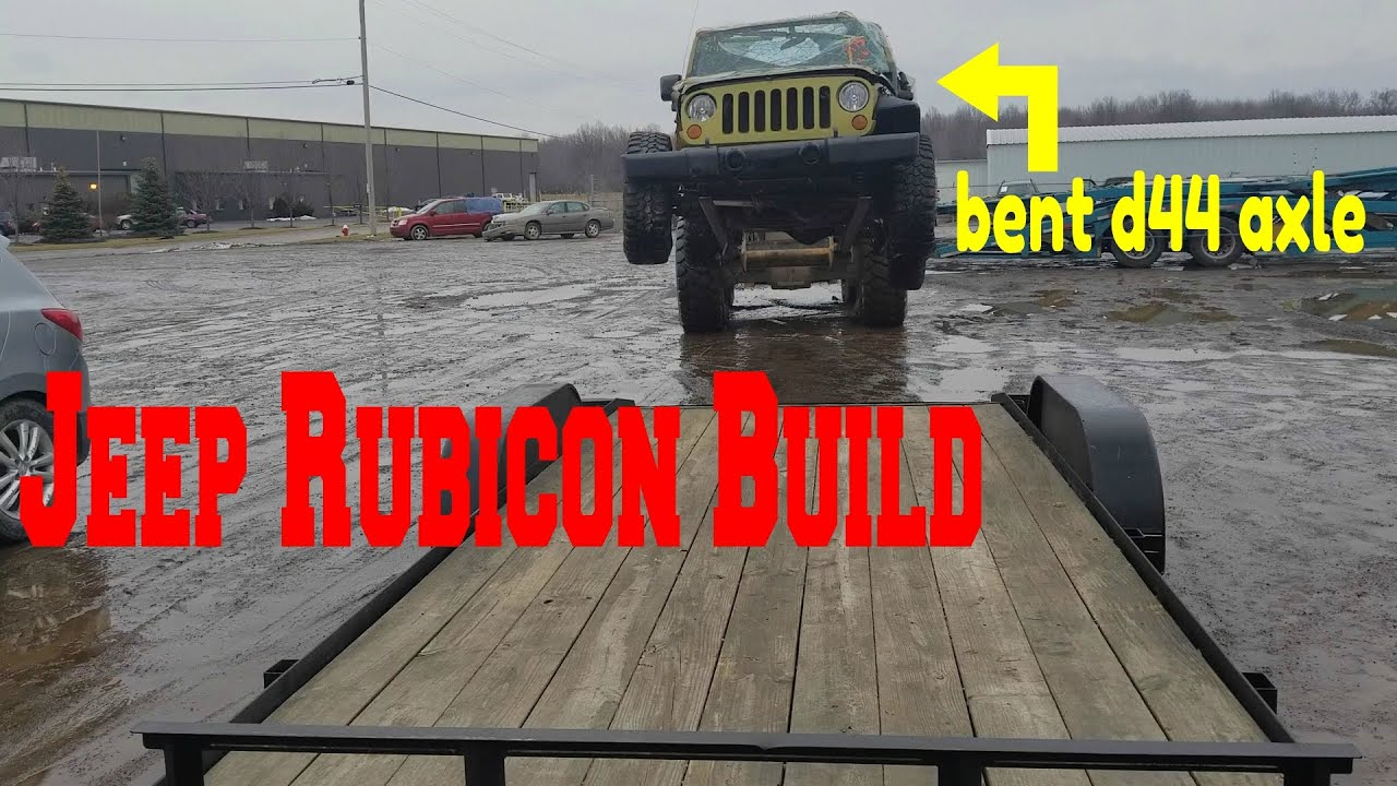 Download Rebuilding A Wrecked Jeep Wrangler JK Rubicon [part 1]