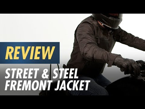Street & Steel Fremont Jacket Review at CycleGear.com