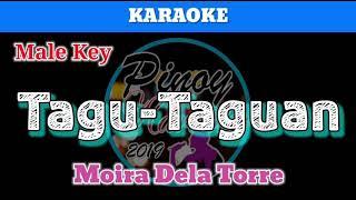 Tagu-Taguan By Moira Dela Torre (Karaoke : Male Key)