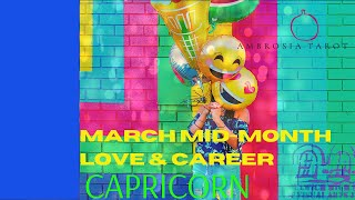 Capricorn Mid-Month Love+Career Tarot Spreads (Fighting  change, it will be fine!) March 15-31 2021