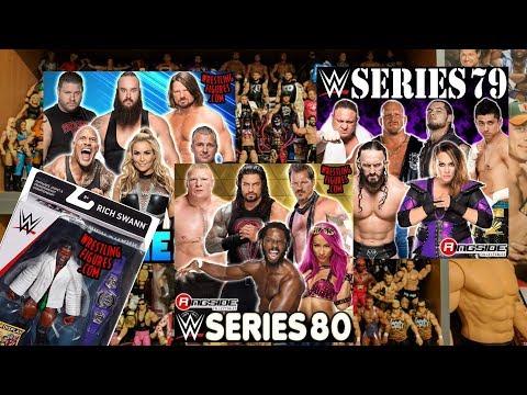 WWE MATTEL BASIC 78, 79 & 80 FIGURE ANNOUCEMENTS!!!