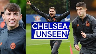 Pulisic Trains w/ Academy, Billy Gilmour's Still on 🔥& Jorginho Scores Wonder Goal | Chelsea Unseen
