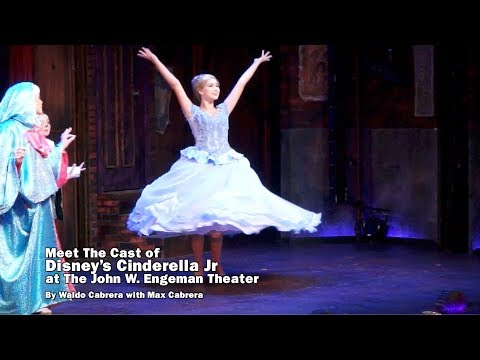 Meet the Cast of Disney's Cinderella Jr at the John W. Engeman Theater