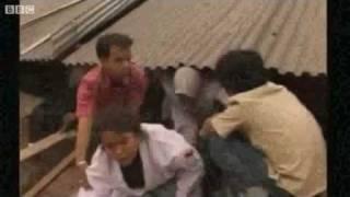 Earthquake at Padang Sumatra - moments after