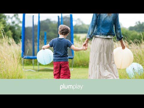 Plum Blue Junior Trampoline