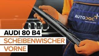 Wie Glühlampe Blinker AUDI 80 (8C, B4) wechseln - Online-Video kostenlos