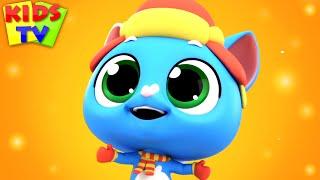 Three Little Kittens | kids tv nursery rhymes and kids songs | super supreme cartoon