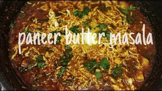 Paneer Butter Masala | Simple & Easy Way | Ultimate Food Show