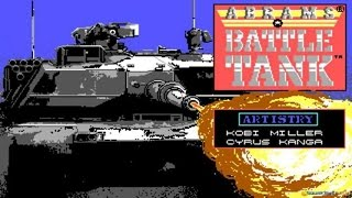 Abrams Battle Tank gameplay (PC Game, 1988)