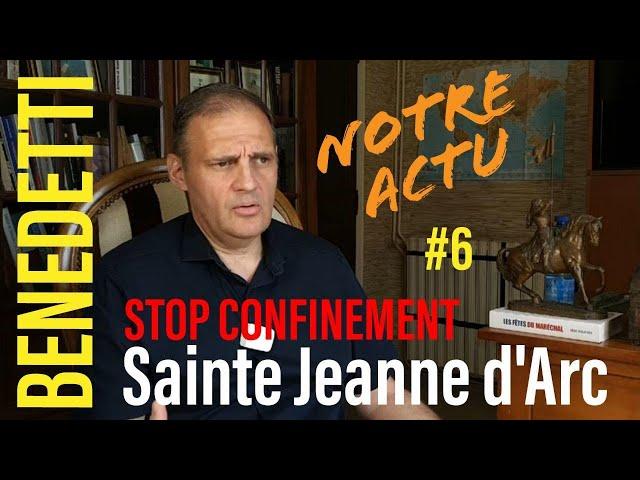10 mai Fête de Jeanne d'Arc #StopConfinement