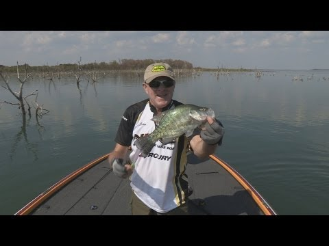 Southwest Outdoors Report #26 Lake Ray Roberts, Texas Crappie Fishing - 2013