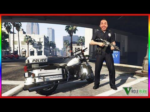 [🔴LIVE] JE DEVIENS POLICIER DANS MA NOUVELLE VILLE !!  ICI C'EST MOI QUI FAIT LA LOI - GTA 5 RP ...