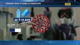 на яких поверхнях найдовше живе коронавірус – дослідження науковців