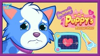 Fun Animal Puppy Care - Baby Play Puppy Vet Doctor - Little Pet Doctor Game For Kids