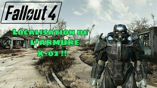 Fallout 4 - Localisation de l armure X-02