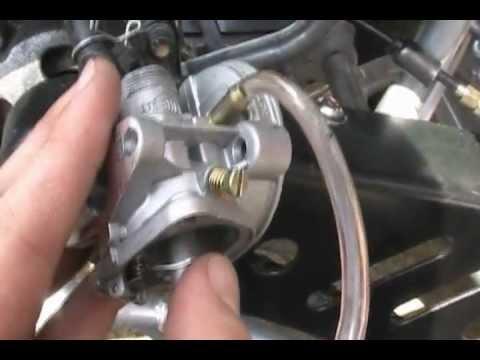 110 Chinese Atv Solenoid Wiring Diagram 49cc Carburetor Leak Solution Youtube