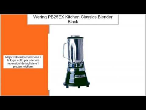 Waring Pb25ex Kitchen Clics Blender Black By