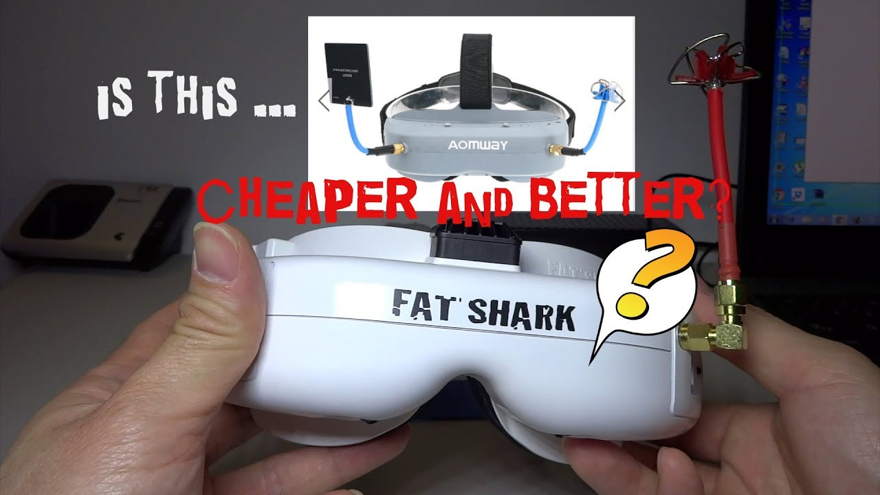 Fat Shark Dominator V3 vs Aomway Commander V1 - Which one would you buy?