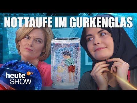 Schneekugeln selber machen – mit Hazel Brugger und Julia Klöckner | heute-show