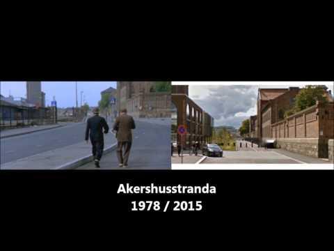 Oslo før og nå: En reise i Olsenbanden sine fotspor