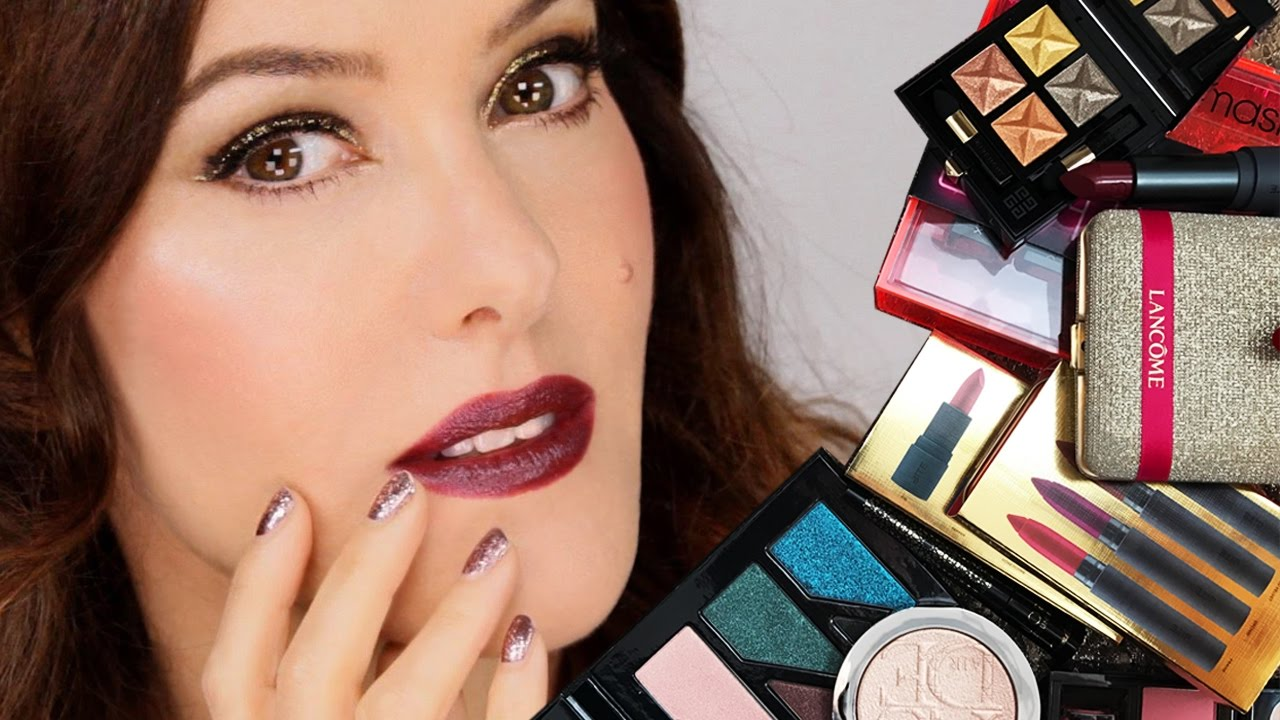 Lisa Eldridge Make Up Video Holiday Look Tutorial Gift Guide