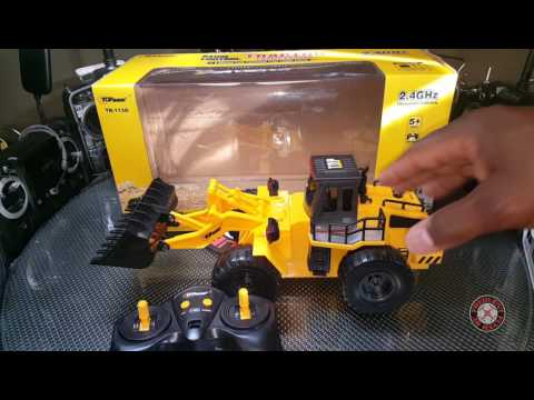 Top Race RC Tractor Front Loader Quick Review